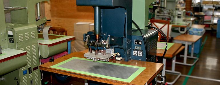 高周波ウェルダー加工のホークアイ社是イメージ画像